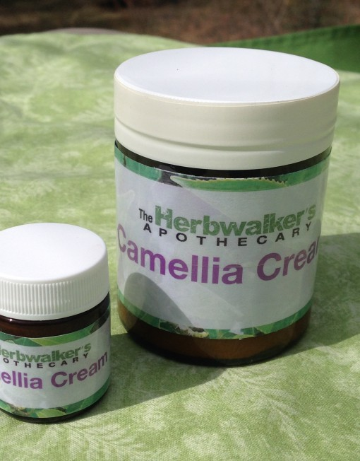 15 ml & 120 ml jars of Camellia Cream