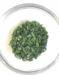 Cut dried chives