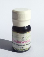 10 ml bottle of Cedarwood Essential oil