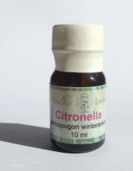 10 ml bottle of citronella essential oil